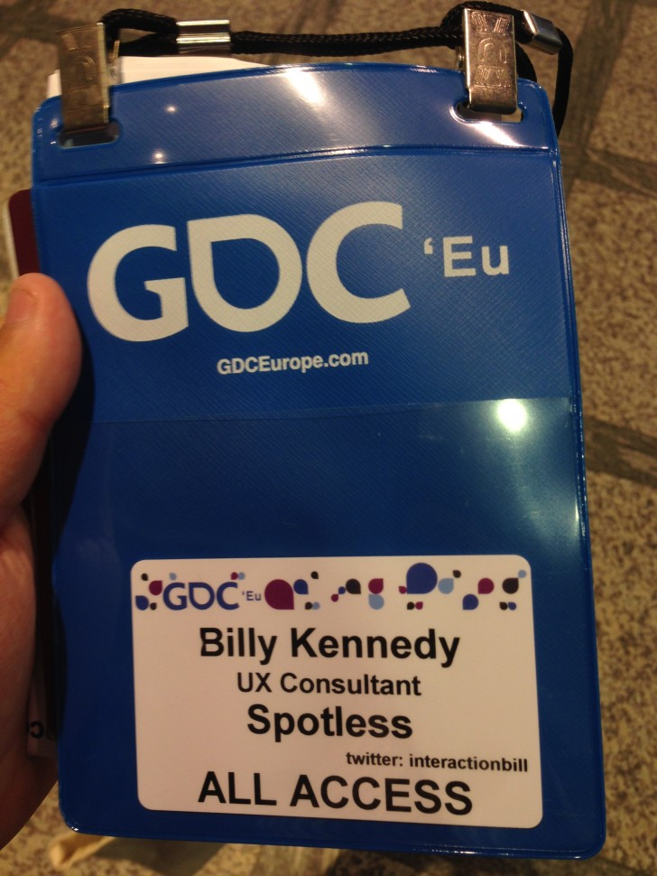 GDC Conference Pass