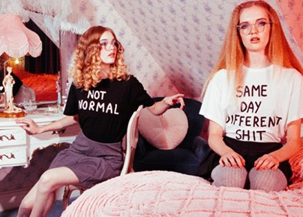Lazy Oaf - Matching style and tone