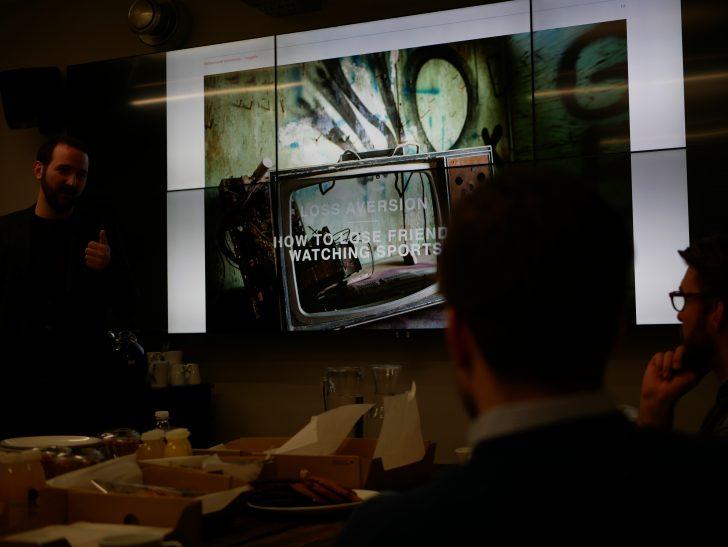 Sotiris' talk on Behavioural Economics