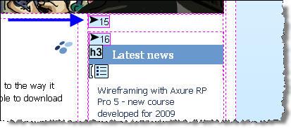 Screenshot of WAVE accessibility toolbar by WebAIM