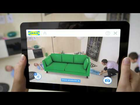 IKEA 2014 Augmented reality app screenshot