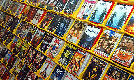 Film rental store