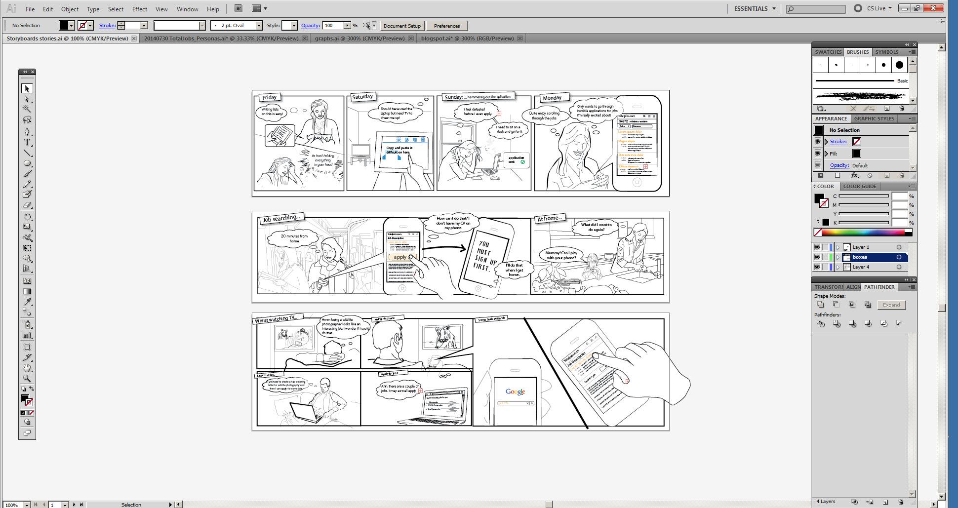 Ux Storyboards 3 Simple Ux Design Steps Spotless