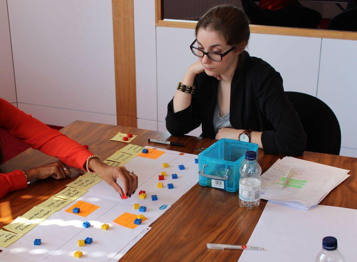 Lego bricks user research exercise