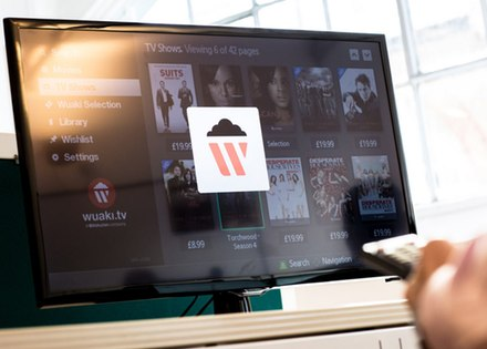 Rakuten - smart TV interface