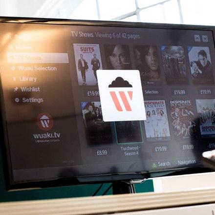 Rakuten - smart TV interface