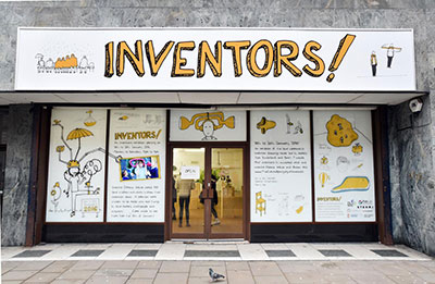 The INVENTORS! exhibition