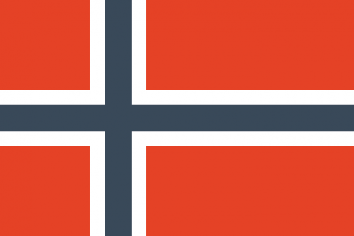 spotless flags-Norway