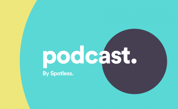 spotless podcast social thumbnail